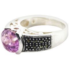 Pink Kunzite Ring