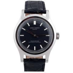 Cuervo y Sobrinos White Gold Automatic Calatrava Wristwatch