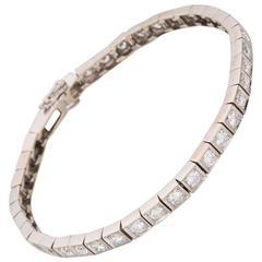 3.12 Carat Diamond Line Bracelet