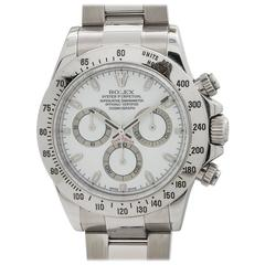 Rolex Daytona Stainless Steel Ref 116520 Box and Papers, circa 2012