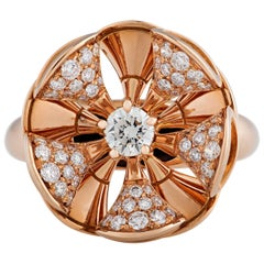Bulgari Diva Diamond Ring 1.15 Carats