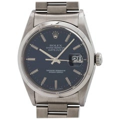 Rolex SS Datejust Ref # 16200, circa 1993