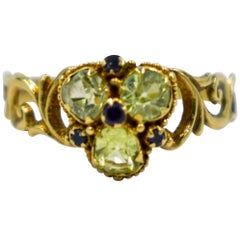 Antique Chrysoberyl Ring