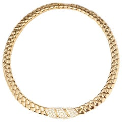Van Cleef & Arpels Diamond Gold Necklace