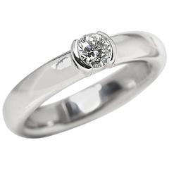 Tiffany & Co. Diamond Platinum Etoile Ring
