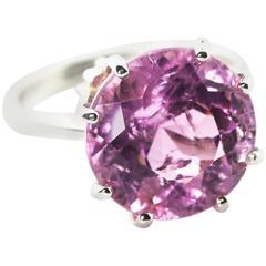 Brilliant Pink Kunzite Ring