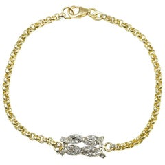 Diamond Love Knot Bracelet