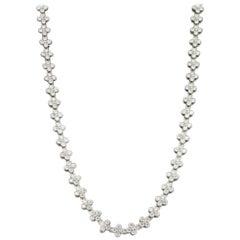 Tiffany & Co. 'Lace' 5.30 Carat Diamond Necklace