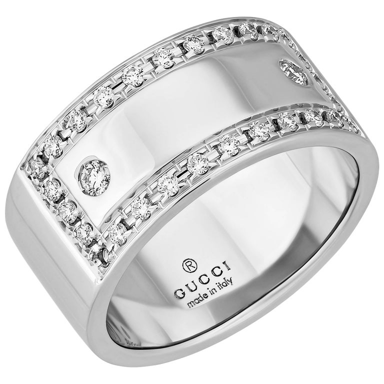 Gucci  Diamond Gold Ring