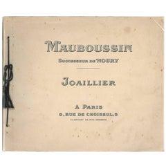 """Mauboussin Joaillier"" Book or Catalogue"