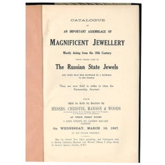 """Collection of Russian State Jewels"" Sale Catalogue"