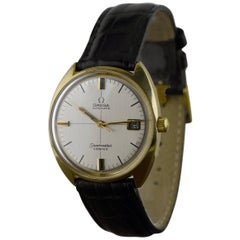 Omega Gold-Plated Stainless steel Cosmic Automatik Date wristwatch 1971