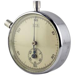 OTS Arnaud France Rare and Fine Stopwatch, 1954