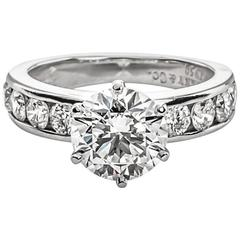 Tiffany & Co. 2.08 Carat Diamond Engagement Ring