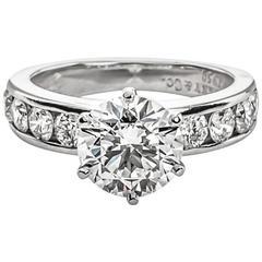 Tiffany & Co. 2.08 Carat Diamond Engagement Ring