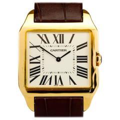 Cartier Yellow Gold Santos Dumont Wristwatch, circa 2005