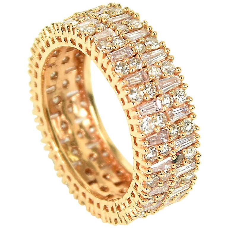 baguette eternity ring for sale at 1stdibs