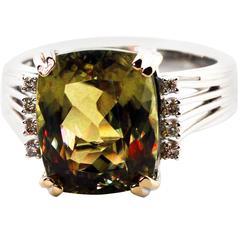 Brilliant Color-Change Zultanite Ring