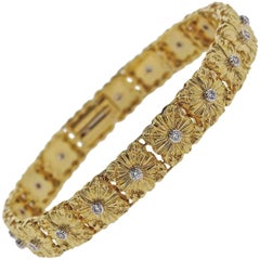 Buccellati Gold Diamond Bracelet