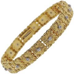 Buccellati Gold Diamond Bracelet