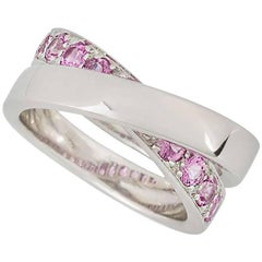 Cartier Paris Nouvelle Vague Pink Sapphire Ring