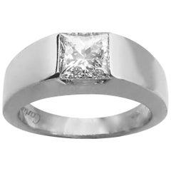 Cartier Tank Solitaire Diamond Ring