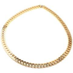 Cartier C De Cartier Link Yellow Gold Necklace