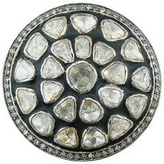 Diamond Slice Round Ring