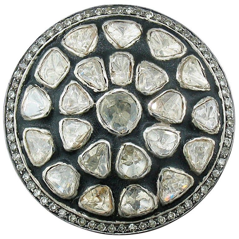 Diamond Slice Round Ring For Sale