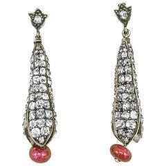 Breathtaking Diamond Pod Earrings