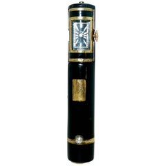 Cartier Paris Art Deco Watch/Lipstick