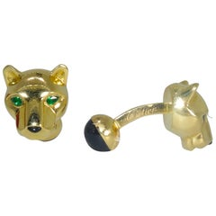 Cartier Paris Panthere Cufflinks