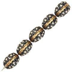"""""""Pierced Pillow"""" Bracelet by Marilyn Cooperman"""
