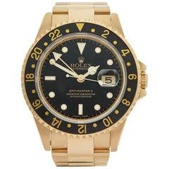 Rolex GMT-Master II 18 Karat Yellow Gold Gents 16718, 1997