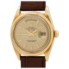 Rolex Yellow Gold Day Date Ref 1803 Self Winding Wristwatch, circa 1969