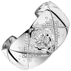 Chanel Coco Crush Diamond Bangle Bracelet