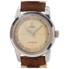 Omega Stainless Steel Seamaster Ref# 2848 Automatic Wristwatch, circa 1956