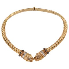 Zolotas Chimera Gold Necklace