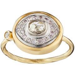 Bergsoe Pavé Diamond Gold Ring