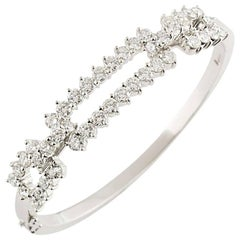 Kutchinsky Diamond White Gold Bangle