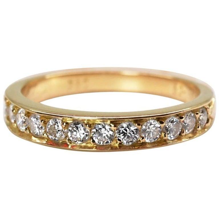 Cartier Infinity Bracelet: Cartier Diamond Eternity Ring At 1stdibs