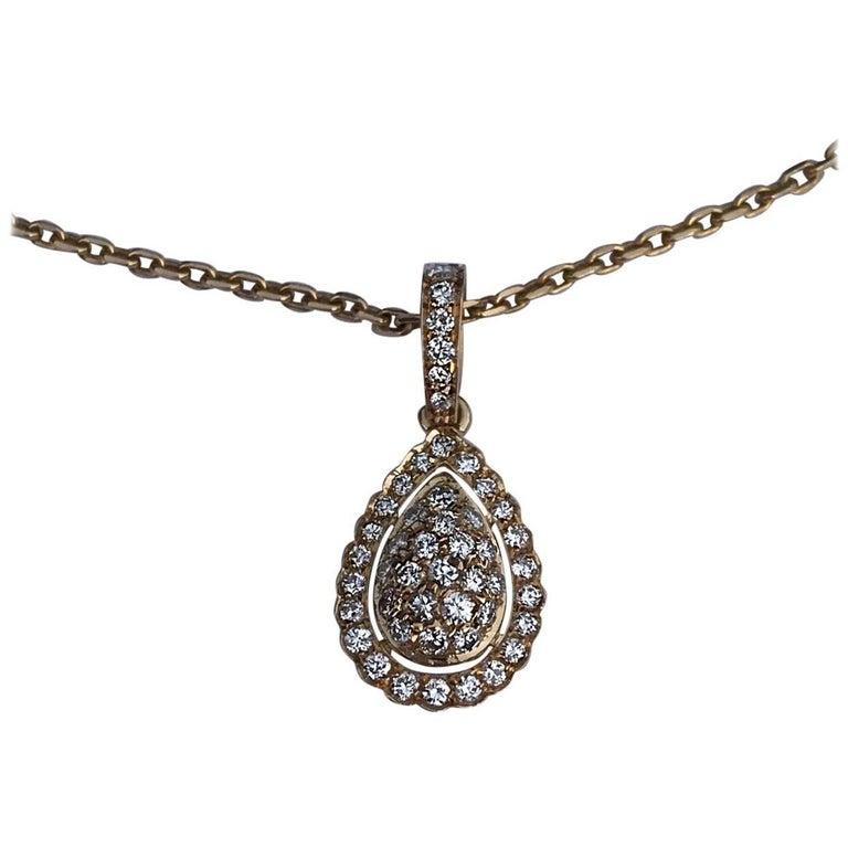 Cartier pave diamond pendant neckalce for sale at 1stdibs cartier pave diamond pendant neckalce for sale aloadofball Choice Image
