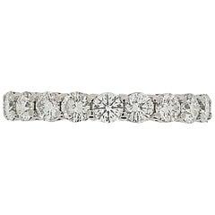 Tiffany & Co. 1.64 Carat Diamond Eternity Ring