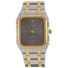 Audemars Piguet Royal Oak Yellow Gold Stainless Steel Quartz Wristwatch
