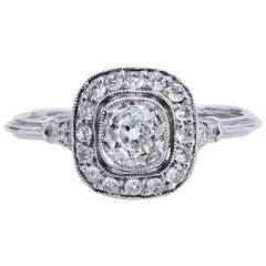 0.73 Carat Diamond Engagement Ring
