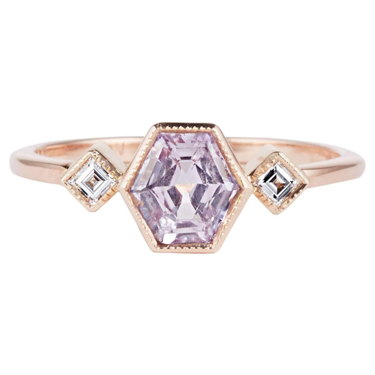 gia white img grande ring in sapphire collections lavender rings solitaire engagement gold certified diamond