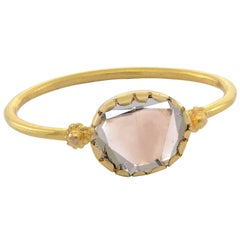 Emma Chapman 18 Karat Yellow Gold Diamond Stacking Ring