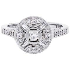 Tacori 0.50 Carat Diamond Ring