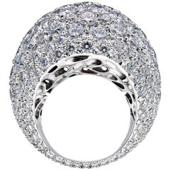 Towe Norlen Dune 15.6 Carat Contemporary Diamond Bombe Cocktail Ring