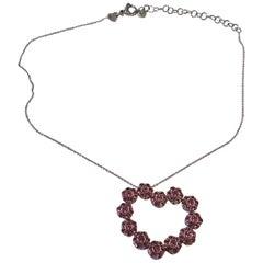 Pasqual Bruni Pink Sapphire Heart Pendant